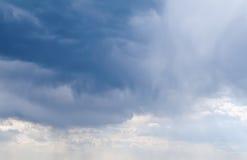 Nuage de pluie cloudscape Photos libres de droits