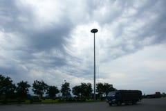 Nuage de tempête Images libres de droits