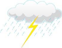 Nuage de tempête Image libre de droits