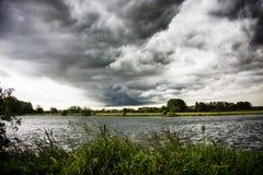 Nuage de tempête Photographie stock