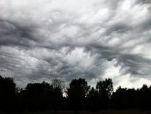 Nuage de tempête de bulle Photo libre de droits