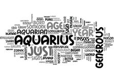 Nuage de Word d'aquariums illustration libre de droits