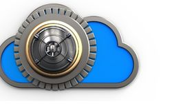 nuage du nuage 3d illustration stock