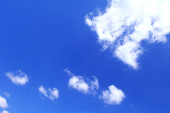 Nuage en ciel Images libres de droits