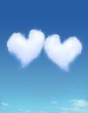 nuage en forme de coeur Illustration de Vecteur