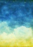 Nuage et ciel photographie stock