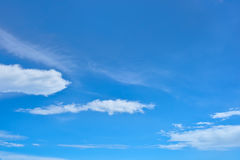 Nuage et ciel Photo libre de droits