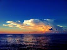 Nuage et ciel Photos libres de droits