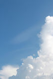 Nuage et ciel Photographie stock libre de droits