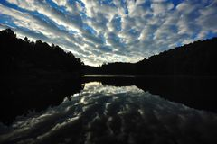 Nuage et ciel renversants Photographie stock libre de droits