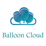 Nuage Logo Illustration Design de ballon Illustration Stock