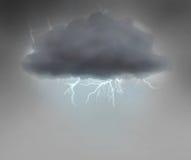 Nuage orageux illustration libre de droits