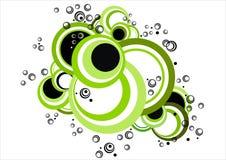 Nuage vert Photographie stock libre de droits