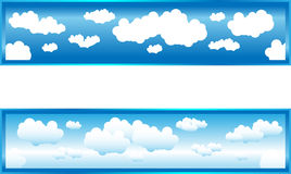 Nuages illustration stock