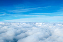 Nuages. Image stock