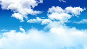 Nuages 003 Images stock