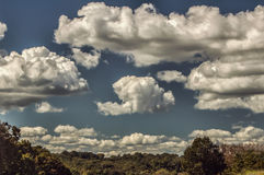 Nuages 5452 Photographie stock