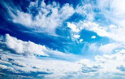 Nuages Photos stock