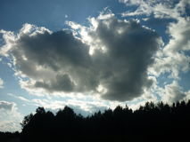 Nuages Photo stock