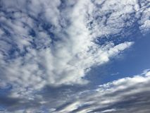 Nuages 003 Photo stock
