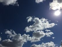 Nuages 011 photographie stock