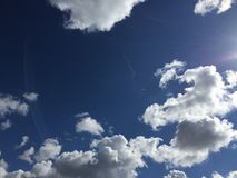 Nuages 012 image stock