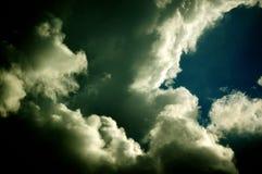 Nuages après la tempête Photos libres de droits
