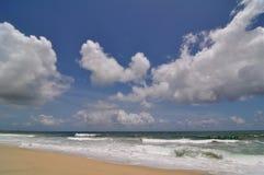 Nuages au-dessus de l'océan dans Los Cabos Mexique image libre de droits