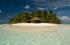 Nuages au-dessus de l'Océan Indien Image libre de droits