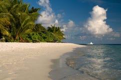 Nuages au-dessus de l'Océan Indien Photos libres de droits