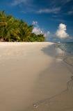 Nuages au-dessus de l'Océan Indien Photo stock