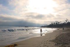 Nuages au-dessus de Laguna Beach Photo libre de droits