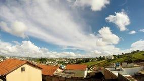 Nuages au-dessus du Brésil 1 banque de vidéos