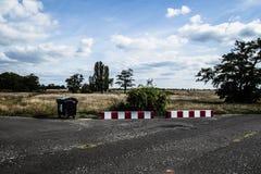 Nuages au-dessus du Tempelhof Image stock