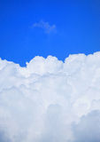 Nuages blancs Image stock