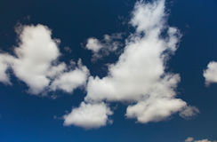 Nuages blancs Image stock