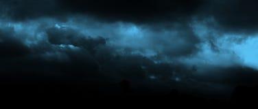 Nuages bleus Image libre de droits