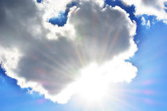 NUAGES, BLUESKY Photo libre de droits