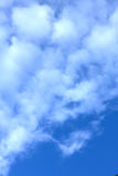 Nuages Ciel bleu Photographie stock