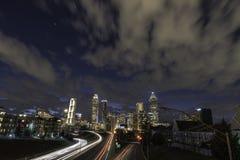 Nuages d'Atlanta Images libres de droits