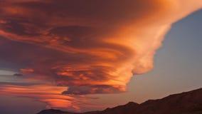 nuages d'images de paysage de la haute définition 4K photo stock