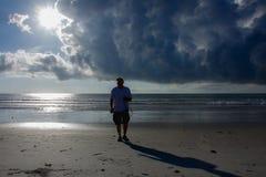 Nuages d'orage Photographie stock libre de droits