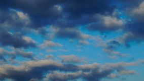Nuages dans le ciel Images libres de droits
