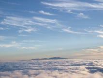 Nuages dans le ciel Image libre de droits