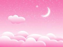 Nuages dans le ciel Illustration Libre de Droits