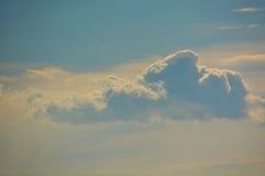 Nuages dans les nuages Photo libre de droits