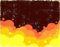 Nuages de bulle Image libre de droits