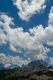 Nuages de Caucase Photographie stock