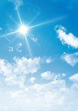 Nuages de ciel Image libre de droits