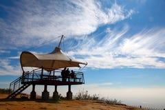 Nuages de ciel bleu photo libre de droits
